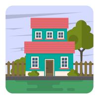 Familiehuis vector