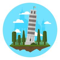 Italië vector