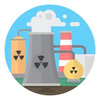 Giftige fabriek vector