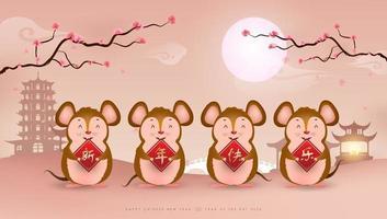 gelukkig chinees nieuwjaar achtergrond of banner ontwerp. vector