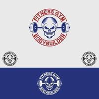 fitness gym logo vector sjabloon ontwerpset