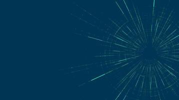 futuristische hyperspace-snelheidsbeweging op toekomstige technologieachtergrond vector