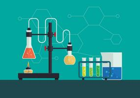 Chemie vectorillustratie