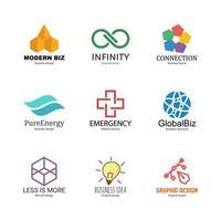 abstracte logo ontwerpsjabloon vector