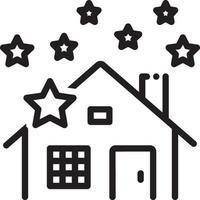lijn pictogram voor diepe reiniging van het huis vector