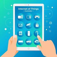 internet of things controller vector
