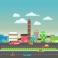 stad landschap vector