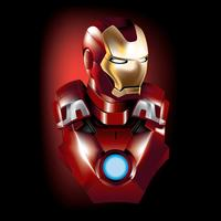 Iron Man Vector superheld