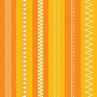 Gratis Fashion Design-borstels: ritsen en stiksels vector