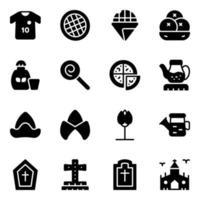 nederlandse cultuur en holland architectuur vector