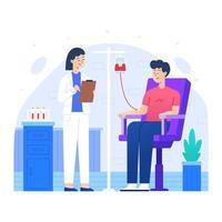 bloeddonordag concept vector