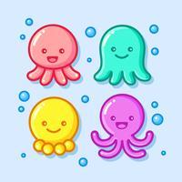 Leuke Octopus Illustratie vector