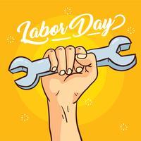 Happy Dag van de Arbeid Vector