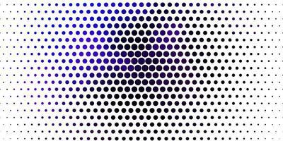 lichtroze, blauwe vectorachtergrond met stippen. vector