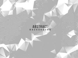 abstract grijs en wit geometrisch modieus modern ontwerp als achtergrond vector