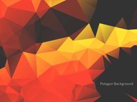 decoratieve geometrische driehoek veelhoek abstracte achtergrond vector