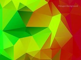 geometrische driehoek veelhoek achtergrond vector