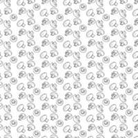 paddestoelen naadloze patroon. vector
