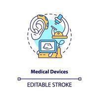 medische apparaten concept pictogram vector