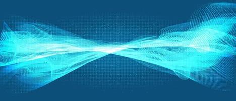 moderne geluidsgolftechnologie en aardbevingsgolf en golvend concept, ontwerp voor muziekstudio en wetenschap, vectorillustratie. vector