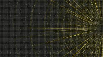 futuristische hyperspace-snelheidsbeweging op toekomstige technologieachtergrond, verdraaien en uitbreidend bewegingsconcept, vectorillustratie. vector