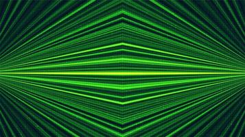 groene lasertechnologieachtergrond, digitaal en verbindingsconceptontwerp, vectorillustratie. vector