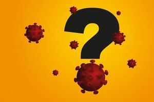 zoek naar een wetenschappelijke oplossing om covid-19 te elimineren. vector