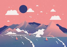 Volle zeeën Vol 3 Vector