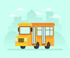 Schoolbus Illustratie vector