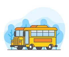 Schoolbus Illustratie