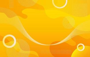 gele vloeibare gradiënt abstracte achtergrond vector