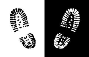 schoen print vector teken
