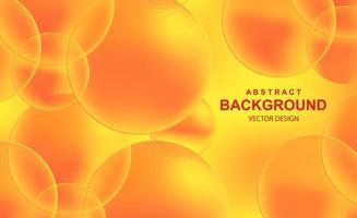 abstracte achtergrond met transparante ballen vector