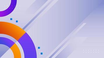 abstracte kleurrijke vormen achtergrond. geometrisch modern bannerontwerp. vector