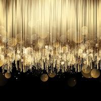Luxe abstracte gouden achtergrond vector