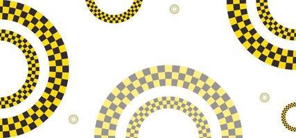 geometrische vormen weg stijl achtergrond of banner vector