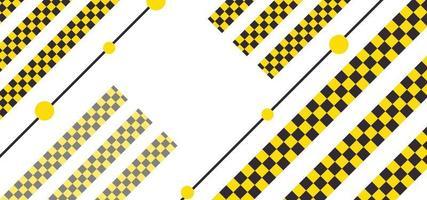 moderne geometrische mooie achtergrond of banner vector