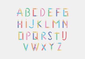 Potlood alfabet