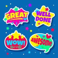 Leraar beloning stickers