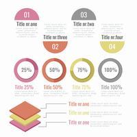 Vector Infographic elementen