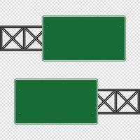 groen verkeersbord bord bord vector