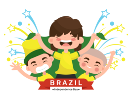 Brazilië Independence Day vector