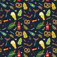 Oktoberfest naadloze patroon Vector
