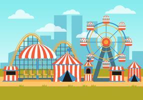 eerlijke festival van de provincie vector