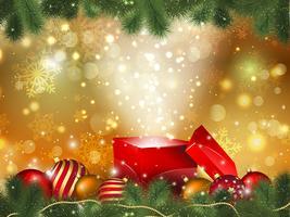 Kerst cadeau achtergrond