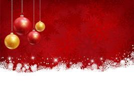 Kerst achtergrond vector