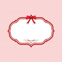 Valentijnsdag polka dot achtergrond