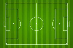 Voetbal veld achtergrond vector