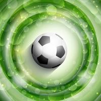 Voetbal of voetbal achtergrond vector