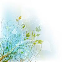 Floral grunge achtergrond vector